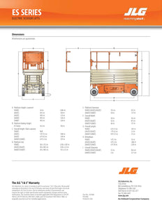 19 ft, Electric, Scissor Lift For Rent