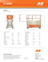 Load image into Gallery viewer, 20 ft, Electric, Scissor Lift For Rent