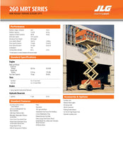 Load image into Gallery viewer, 26 ft, Diesel, Scissor Lift For Rent