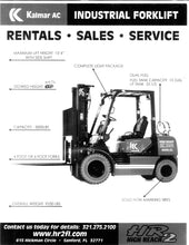 Load image into Gallery viewer, 5,000 lb, Duel Fuel, Industrial/Warehouse Forklift For Sale