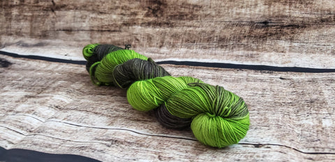 Traveling By Floo Powder | Hand Dyed Yarn | Harry Potter Inspired Yarn