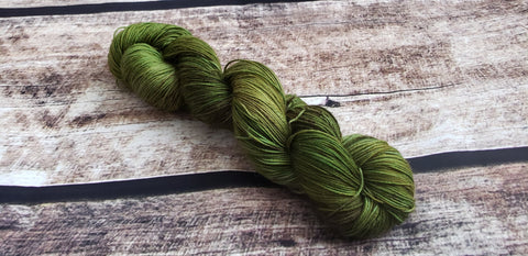 Stay Out Of The Woods | Hand Dyed Yarn | Harry Potter Inspired Yarn