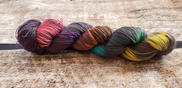 Make It So, Number One | Hand Dyed Yarn | Star Trek Inspired Yarn