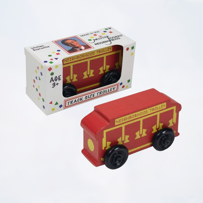 Mister Rogers Neighborhood Trolley for Wooden Track
