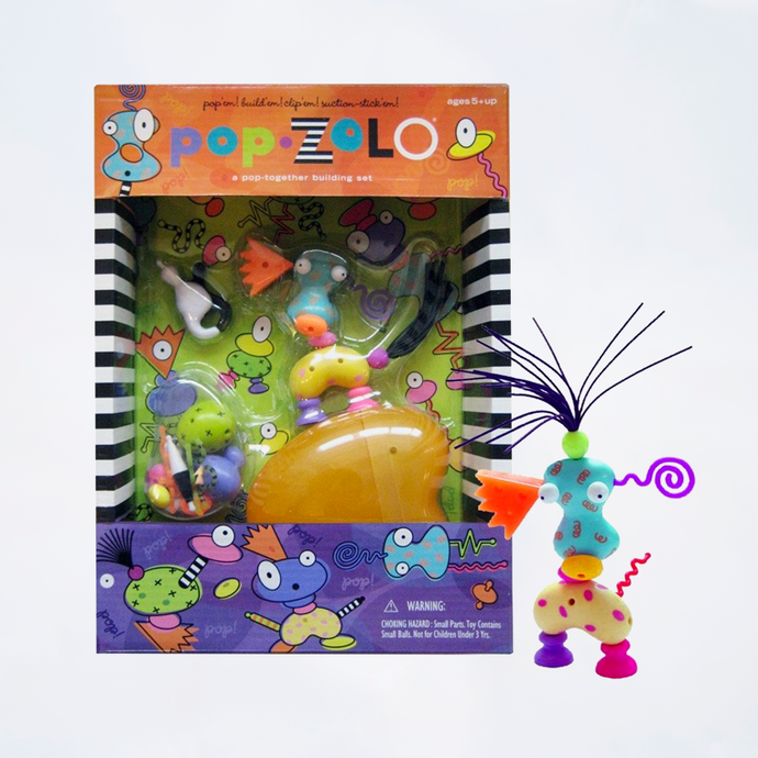 ZoLO Mini Playsculpture Set – pop ZoLO