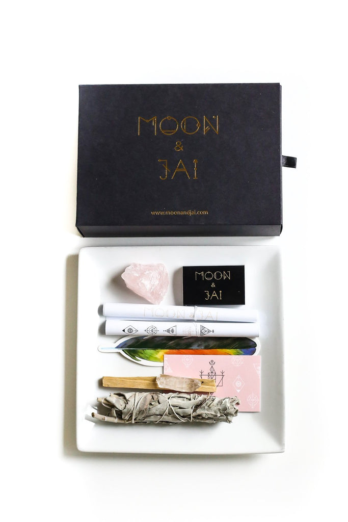 Love Ritual Kit with Rose Quartz