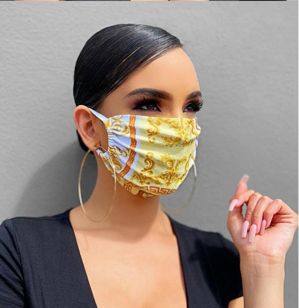 Italian Style Fashion Mask