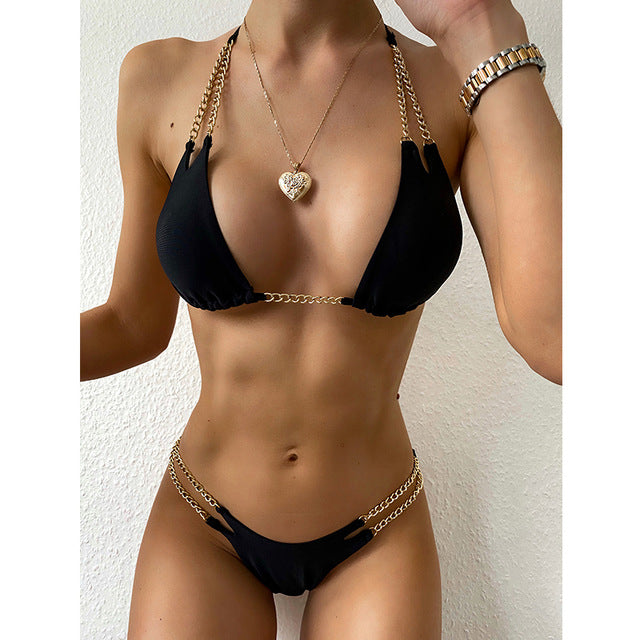 One+Beau Sexy Bikini with Push Up