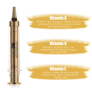 Express Non-Surgical Anti-Aging Facelift Cream with 24k Gold, Hyaluronic Acid, & Vitamins A,C,E