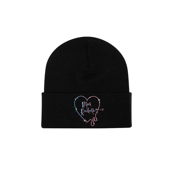 Drippy Heart Beanie