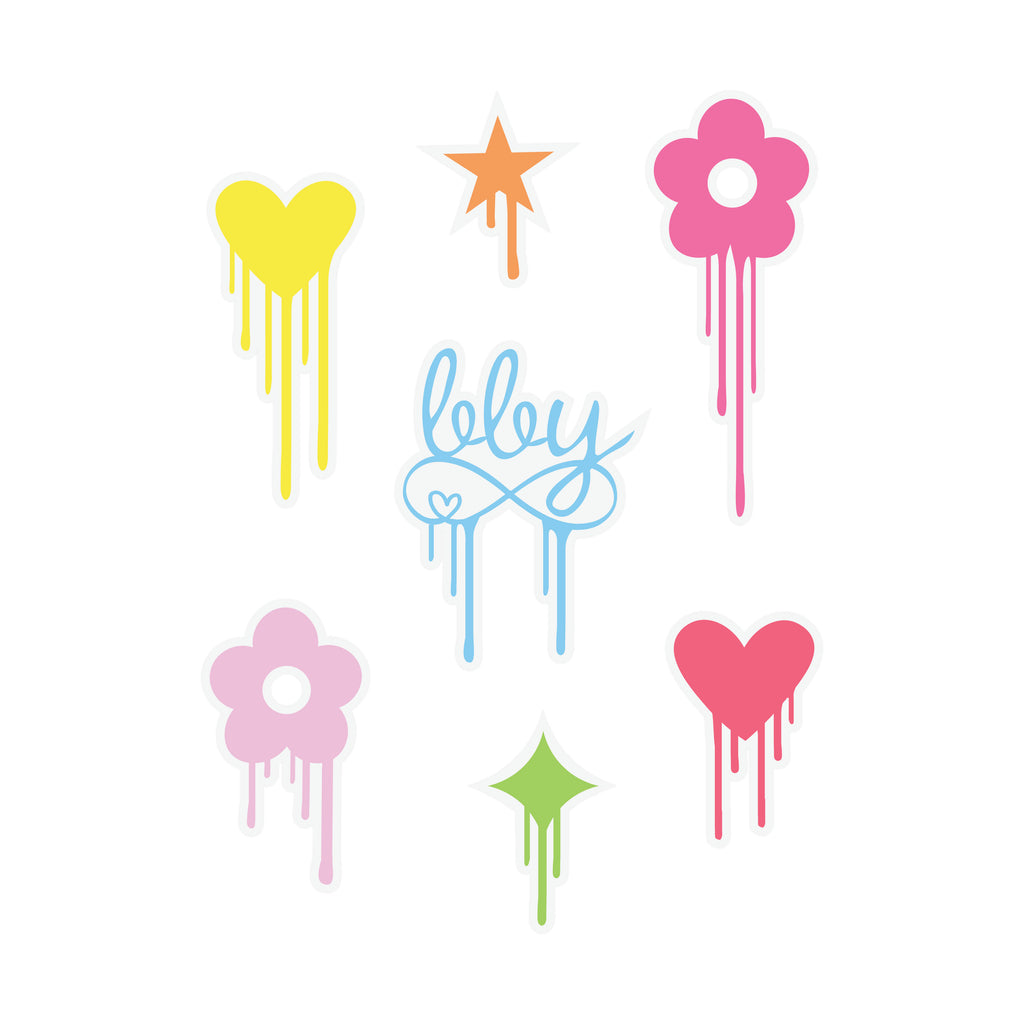 BBY Wall Decal Stickers