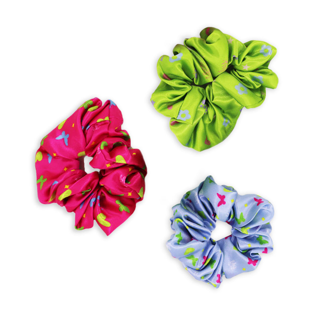 BBY Brights Scrunchies 3 pack