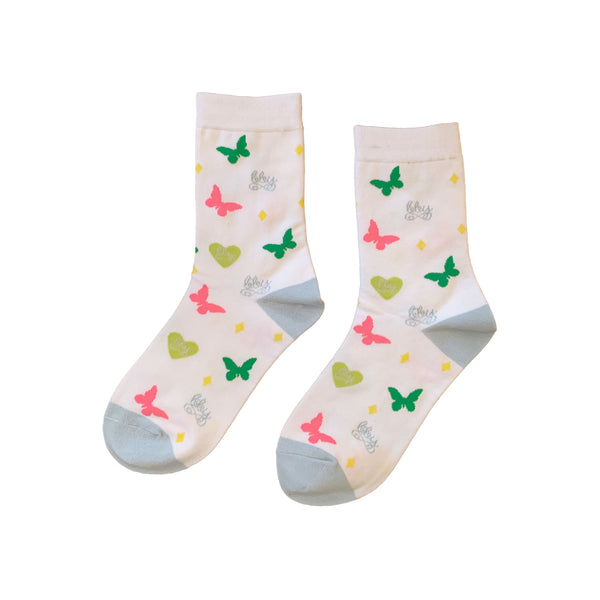 BBY Socks White 2 Pack