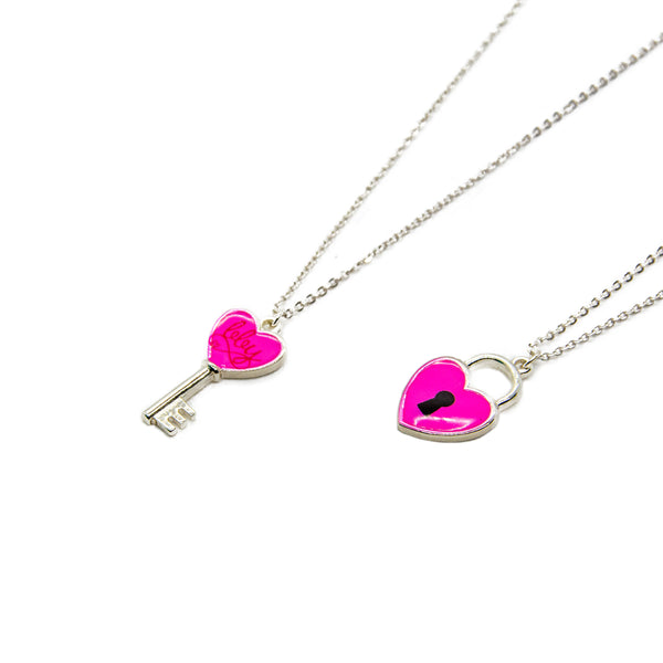 BBY Lock & Key Necklace Set