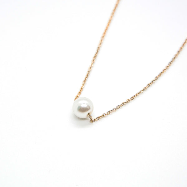 BBY Floating Pearl Necklace