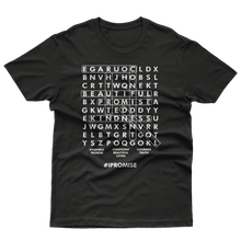 Load image into Gallery viewer, #IPromise Word Search tee