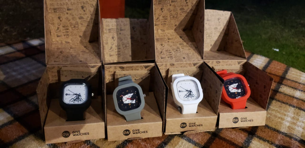 Relojes GIVEWATCHES personalizados voom.cl