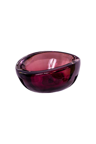 Amethyst Glass Bowl - Medium