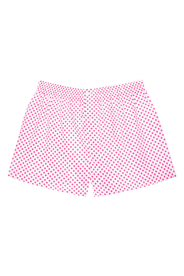 Men's Boxers - Large Pink Polka Dots