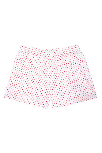 Men's Boxers - Small Red Hearts