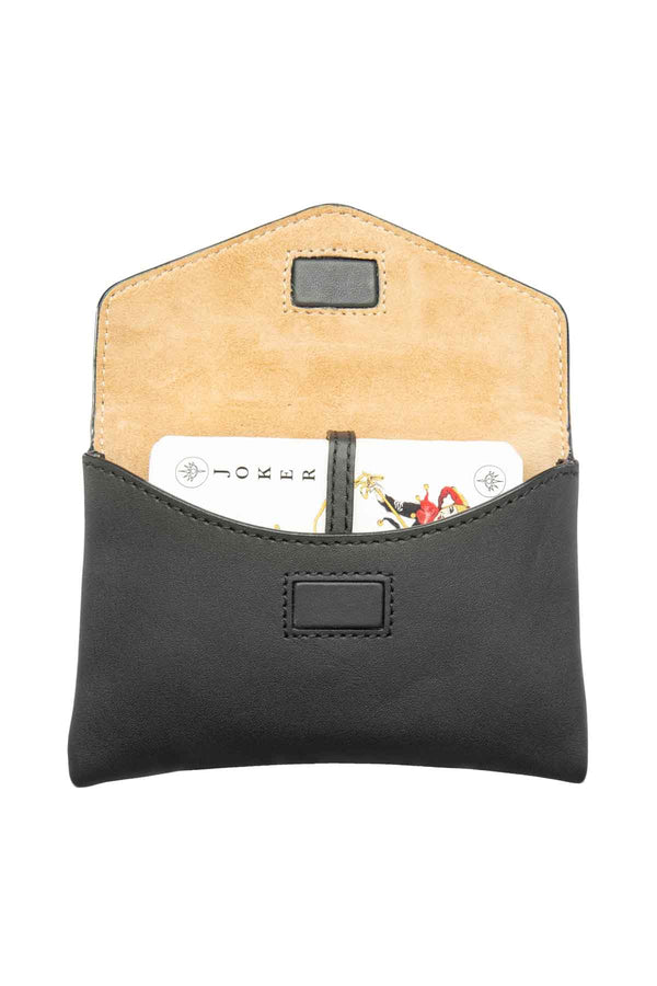 Leather Card Set - Black