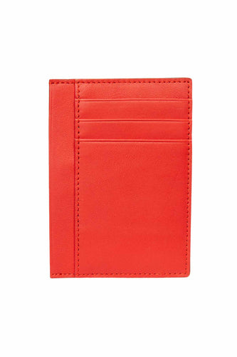 Men's Card Holder - Red