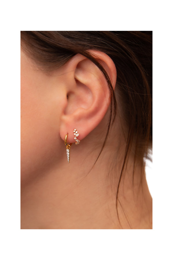 Spike Hoops Earrings