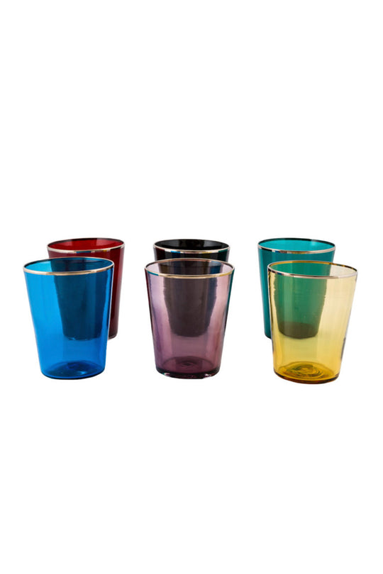 Vaso Glass - Blue