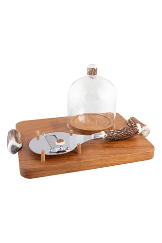 Truffle Set with Glass Dome