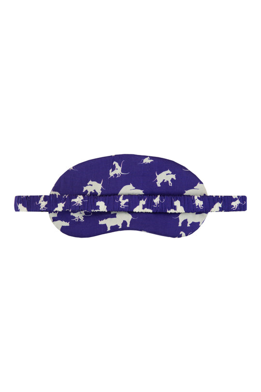 Naughty Eye Mask - Blue