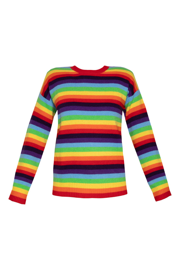Sarabi Rainbow Striped Jumper