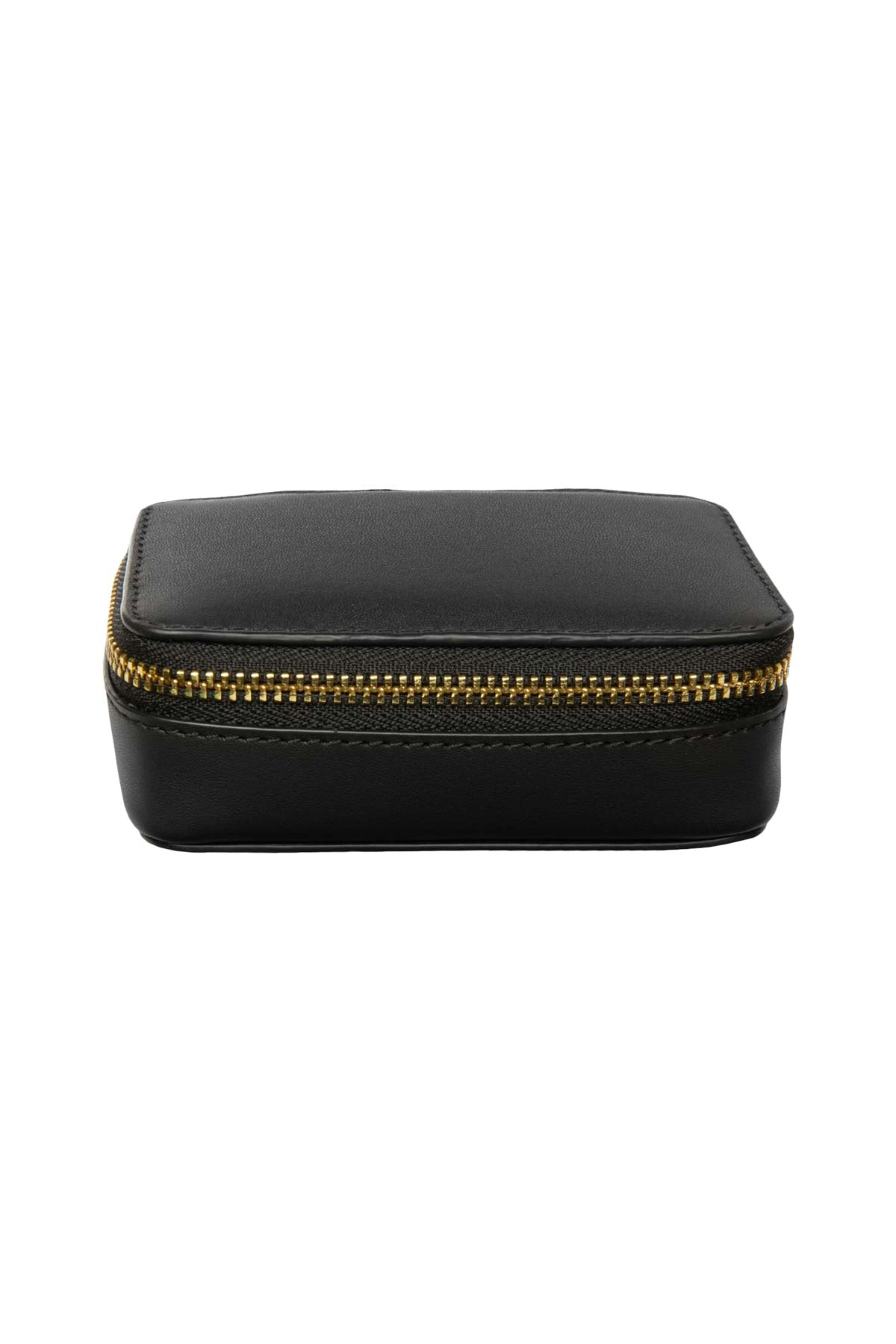 Leather Jewellery Case - Black