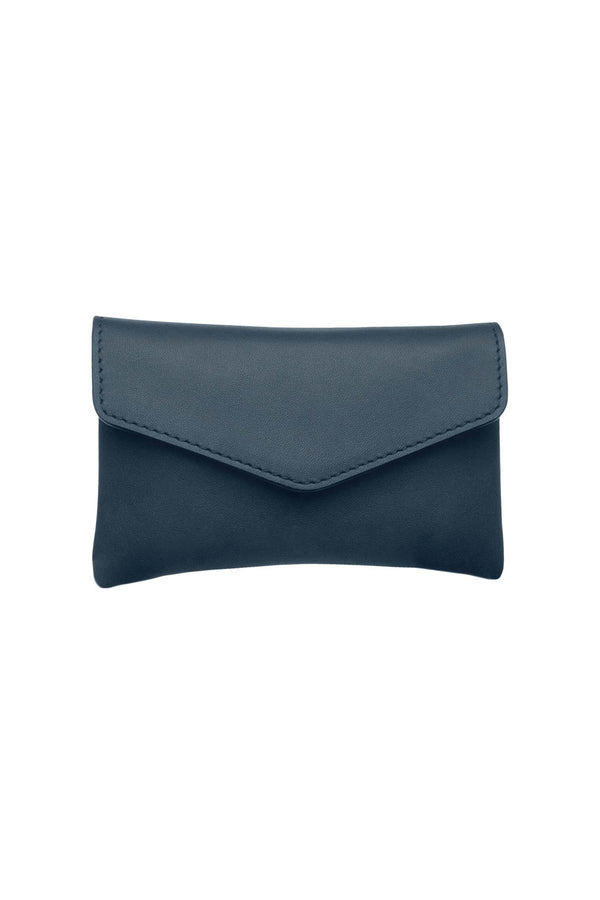 Leather Card Set - Blue