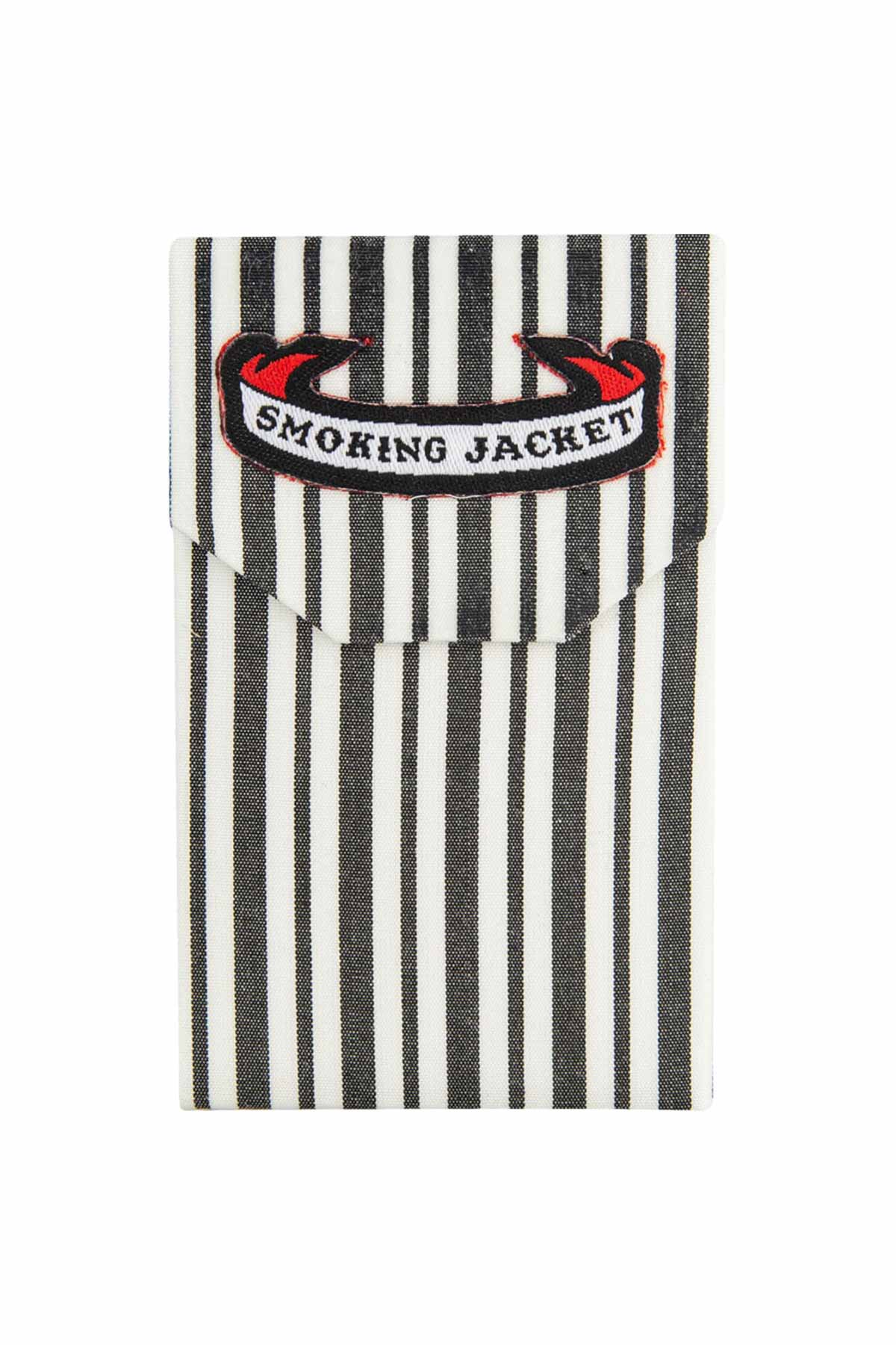 Smoking Jacket - Beardsley Stripe