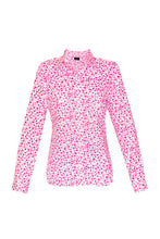 Load image into Gallery viewer, Women's Cotton Shirt - Pink Hearts