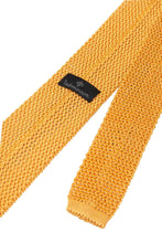 Load image into Gallery viewer, Italian Knitted Tie - Soft Yellow