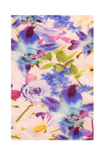 Load image into Gallery viewer, Silk Bugesha Dress - Multi Fleurs