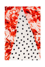 Load image into Gallery viewer, Tri Collar Silk Dress - Pink Floral