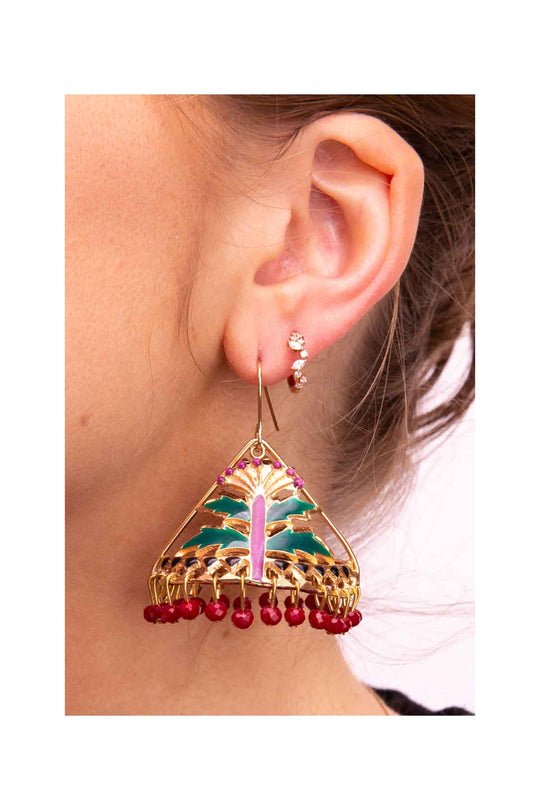 Tenda Flower Earrings