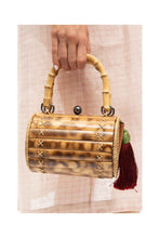 Load image into Gallery viewer, Alix Bamboo Bag with Red Tassel