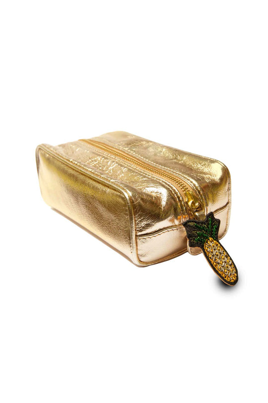 Gold Washbag