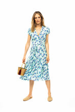 Load image into Gallery viewer, Silk Bugesha Dress - Blue Orchid