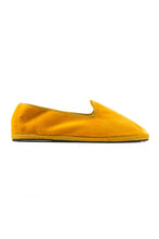 Load image into Gallery viewer, Venetian Velvet Slippers - Yellow