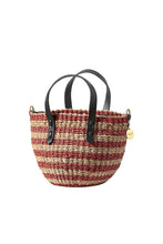 Load image into Gallery viewer, Petite Lea Bag - Red Stripe