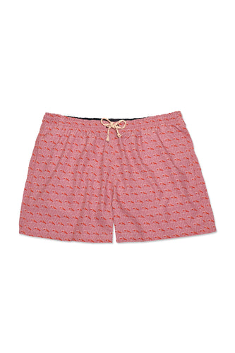 Men's Swimming Trunks - Dirty Martini (Pink)