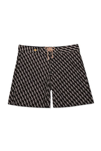 Men's Board Shorts - Black Amour