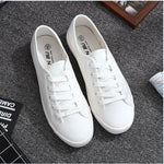 White Canvas Shoes Sports Tennis Women Shoes Autumn Flat Oxford Shoes Woman Female Wild Literary Shoes