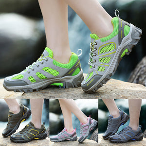 Women Outdoor Mountaineering Mesh Shoes Lace Up Comfortable sport shoes