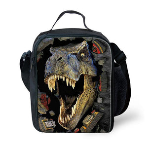 FORUDESIGNS Dinosaur 3D Printing Set School Backpacks for Boys Orthopedic Satchel Schoolbag Children Kids Shoulder Book Bag 2018