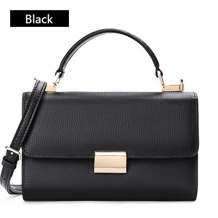 Sendefn Handbag Women Leather Handbags Mini Tote Bag With Zipper Messenger-BUYALL20